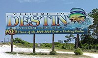 Welcome to Destin, Florida, home of the world's best fishing!
