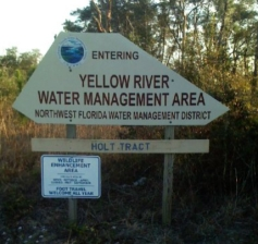 The Yellow River Water Management Area is located in Holt, Florida.