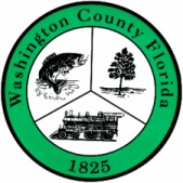 The seal of Washington County, Florida.